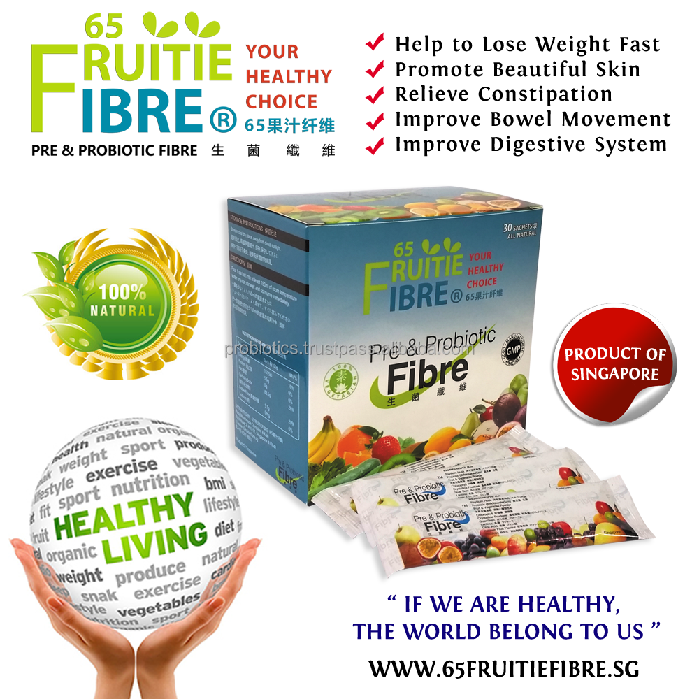 Health Supplement - 65FruitieFibre Probiotics Supplement - 10 + 1 Box FREE Combo Package - Best Health Supplement - Wholesale