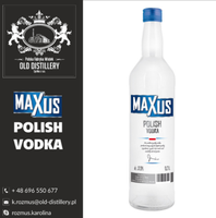 Best price house vodka! Maxus