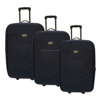 3 pieces W.POLO 2 Wheels Eva Trolley Case