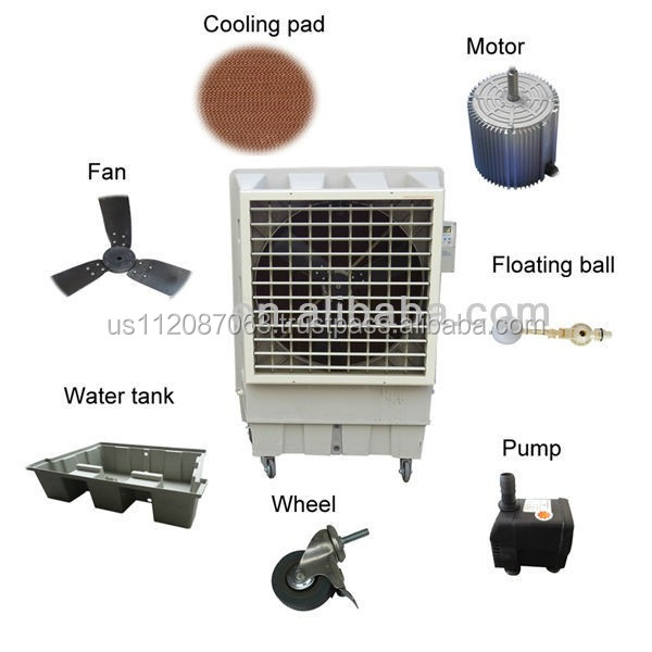 whole sell air cooler and air cooler parts