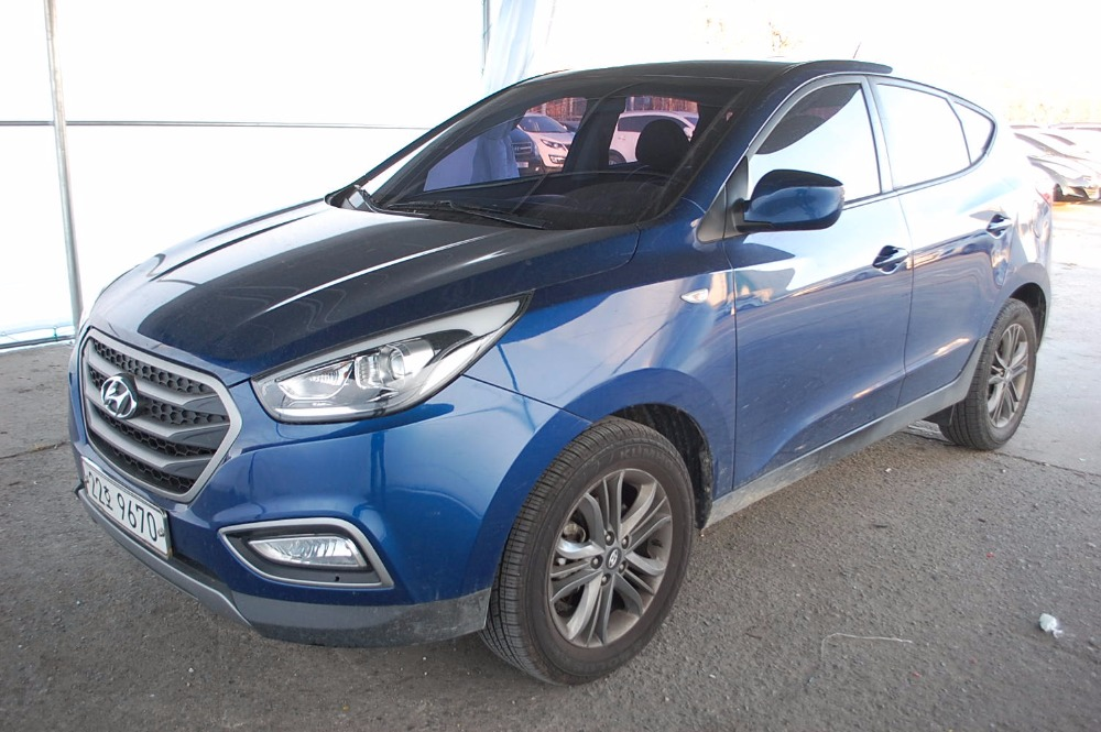 Hyundai Tucson IX used car in Korea