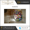 Elegant Fashionable Colorful Colored Hoop Threaded