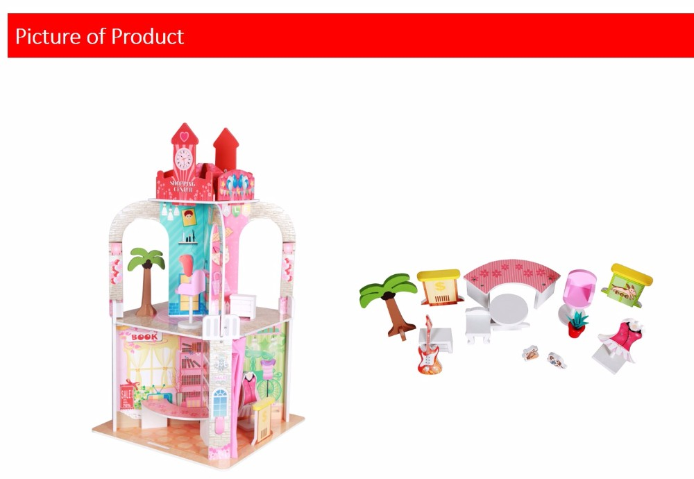 Teamson Kids - Shopping Center with 13 pieces Figurine