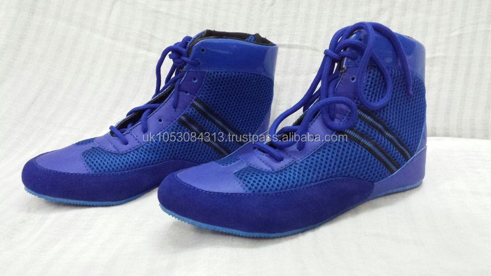 Wrestling Shoes PU Material Outdoor Training Shoes