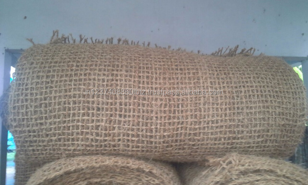Coir geo textiles for road constructions