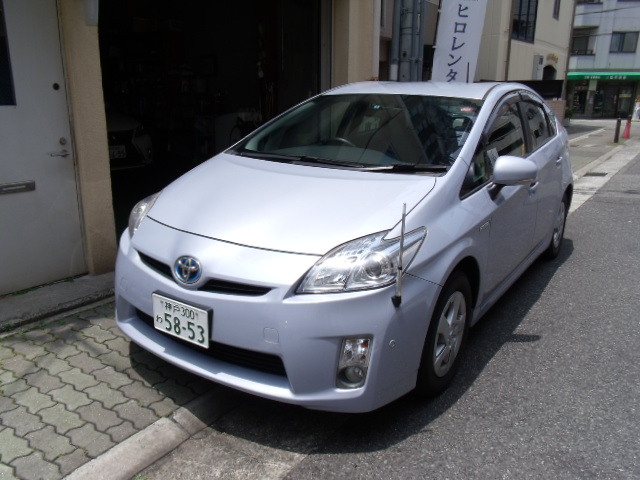 Easy to use Japan used hybrid cars PRIUS with Hybrid