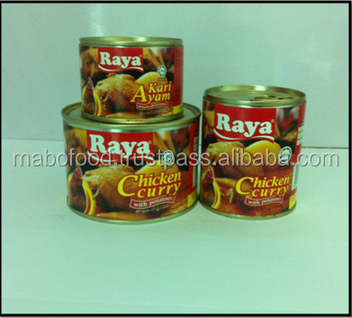 Canned Meat Chicken Curry