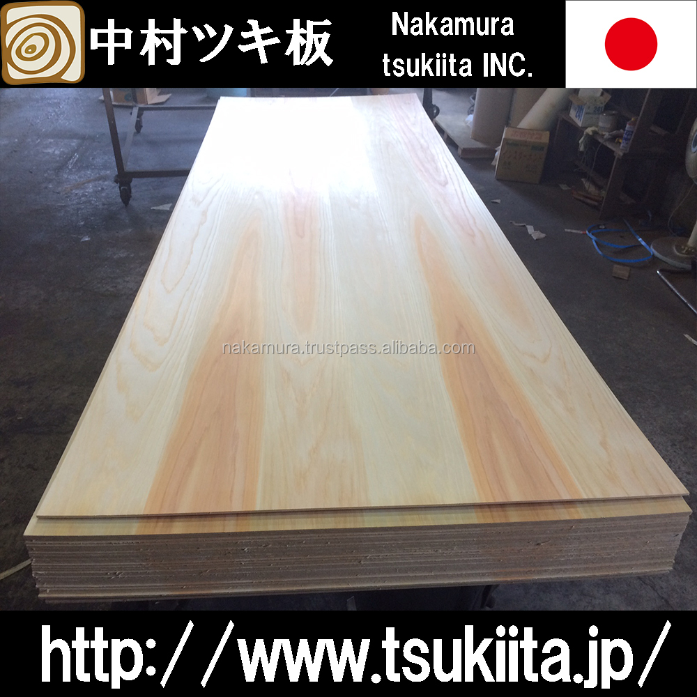 Premium and Beautiful door skin plywood home depot Japanese cedar for interior decoration use , small lot order available