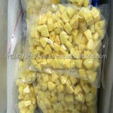 Wholesale IQF frozen fruit organic pineapple