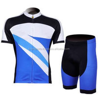 New Cycling Jersey + shorts Quick Dry Breathable Bike wear