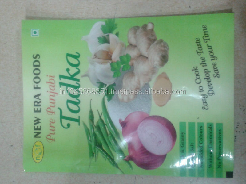 Big packaging printed laminated pouch for vegetable fertilizer