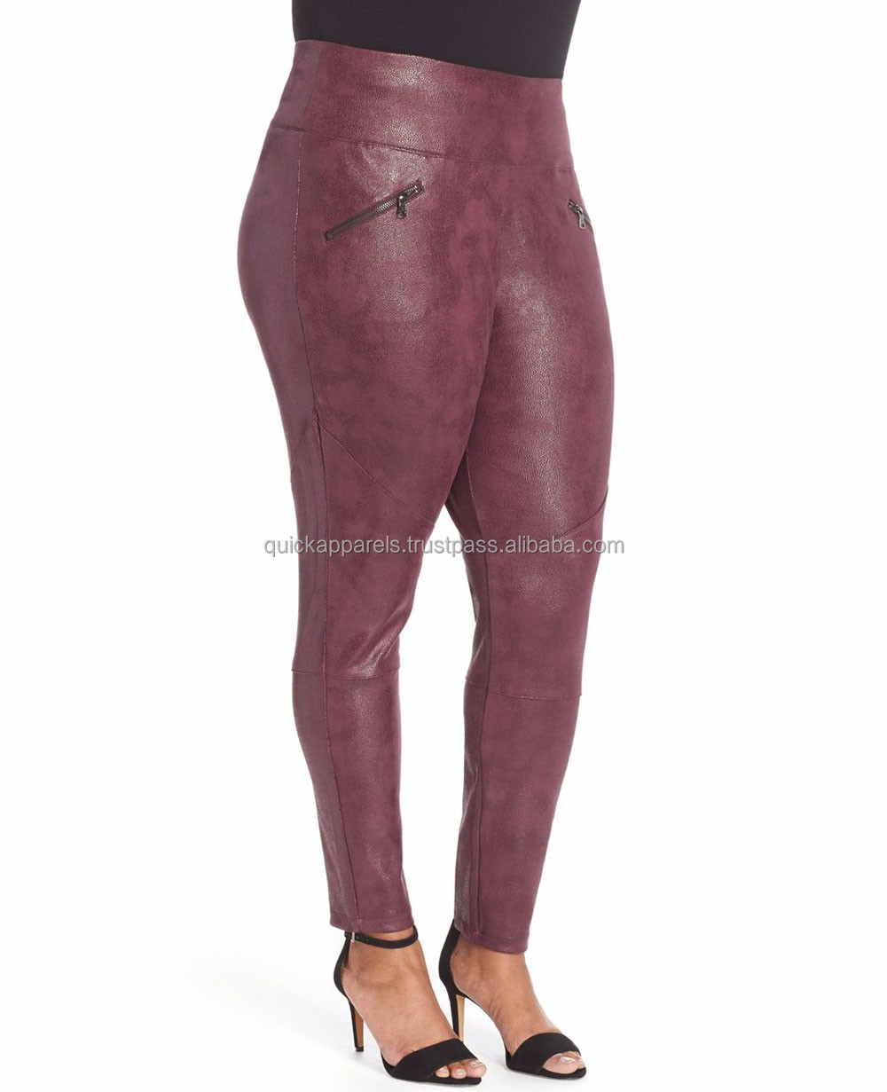 High Quality PU Pants for Women