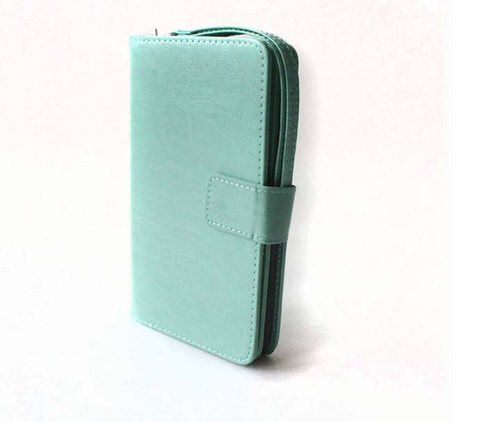 PU Leather Phone Case Wallet Mobile Phone Cases For Samsung Iphone