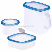 Hot-selling and Easy to use plastic spoon dispenser food container for home use , made by japanese quality