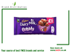 CADBURY BUBBLY MILK CHOC 90 G