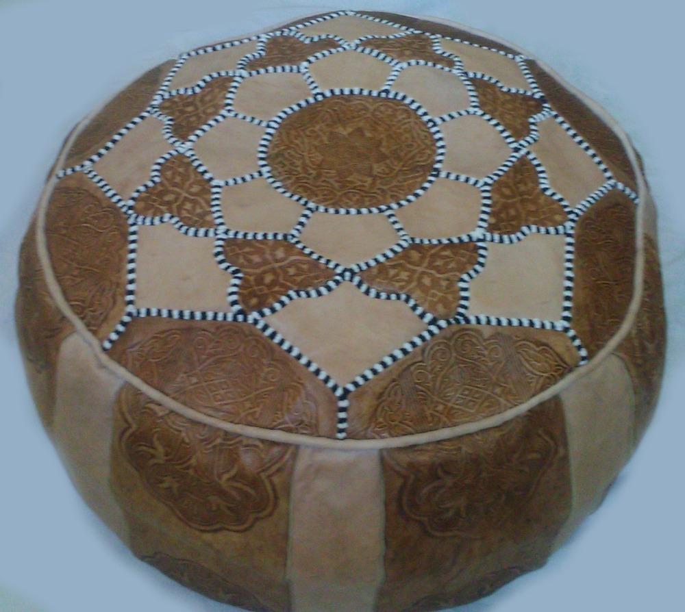 moroccan handmade leather pouf ottoman poof pouffe pouffes hassock  - moroccan handmade leather pouf ottoman poof pouffe pouffes hassockfootstool  buy folding footstool ottoman product on alibabacom