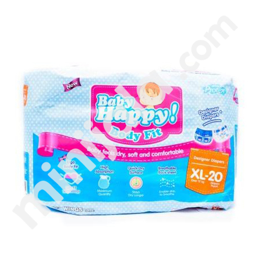 Baby Happy Diapers with Indonesia Origin