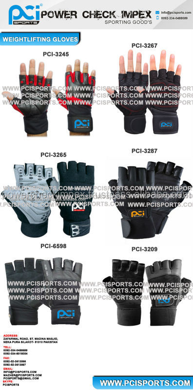Gym Gloves/Weightlifting Gloves/Workout Gloves/Training Gloves PCI