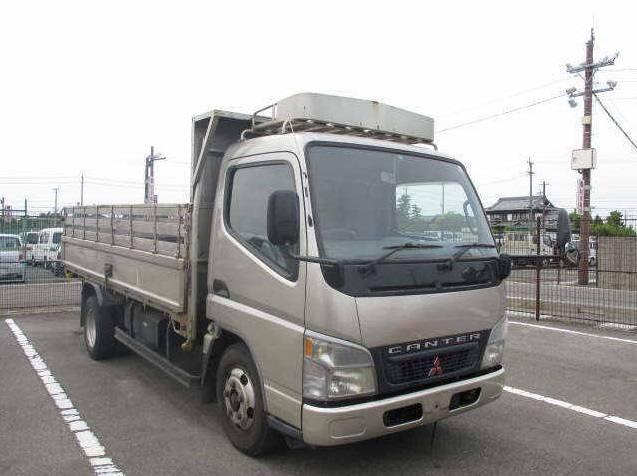 2003 Mitsubishi Canter 3 Tons Flatbed Truck YK23004/KK-FE72EE/4M51 5200cc