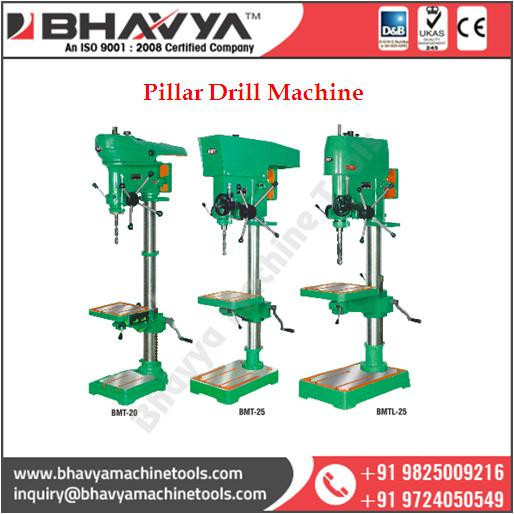 BMT 20-25 High Performance Pillar Drill Machine Price from India
