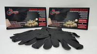 Silk Coated Medical Examination and Industrial Gloves