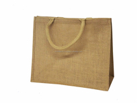 Free Shipping, MOQ 100pcs, Jute Bag, 40x35x12cm,Custom Accept