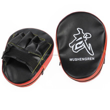 MMA, Boxing Training Equipment/ Curved Taekwondo Focus Mitt/Kicking Pad/Kickboxing Kicking Target