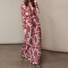 Cotton Beach Gauze embroidered floral korean fashion summer long dress