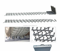 Traffic barrier 5m,6m,7m,8m, 9m,10m stainless steel road block security road spikes ground spikes