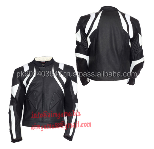 Motorcycle polyester racing jacket
