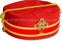 Top-Quality-Peak-Cap-Hand-Embroidered-crown, Masonic Crown