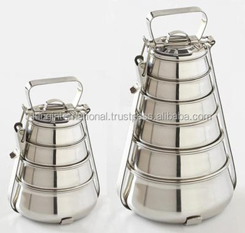 Stainless Tiffins carrier lunch box Food container and Hot Pot