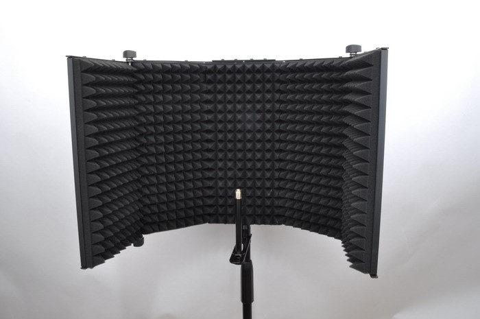 voice recording equipment portable microphone booth