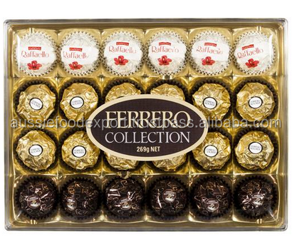Ferrero Collection Chocolates T24 Rocher Rondnoir Raffaello 24pk 269g