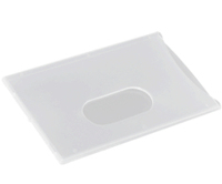 Plastic case, card holder - flexible polypropylene