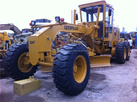 used caterpillar cat 12g motor grader, japan motor grader cat 12g 120g 140g for sale