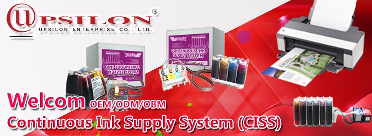 Printer Continuous Ink Supply System For Epson cx7300