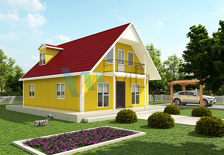 Two-storey Prefabricated House VP720