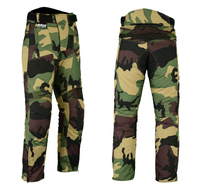 New Mens Camo Motorbike Motorcycle Pants Armoured Waterproof Textile Trousers