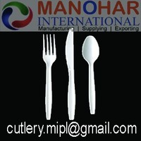 Disposable Plastic cutlery / Spoon / Fork / Knife / Drinking Straw