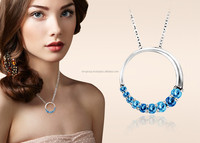 Silver plated Designer Journey Round Pendants