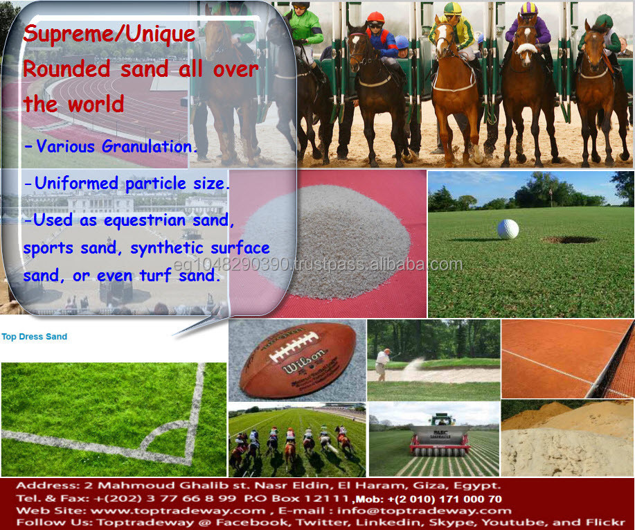 High Quality Sports Sand for all purpose