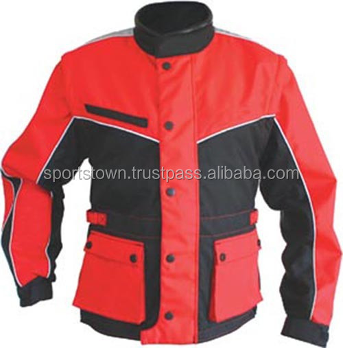 Wholesale Cheap Reflective Motorcycle/Motorbike Cordura 600D Jacket, Custom Red&Blue Textile racing Jackets