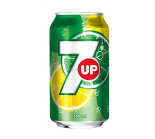 7UP Lemon Soft Drinks 330ml can / Soft Drink tin can / 7 Up Soft Drink