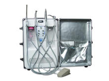 Easily transported mini portable dental unit- promotion now,CE/FDA