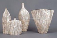 2015 Mother of Pearl Lacquer Vase from Vietnam Manufacture Decoration Vase