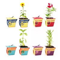 Eco-Friendly Paper Flower Pot For Germination & Growth of Plants & Flowers & Fruits Made In South Korea