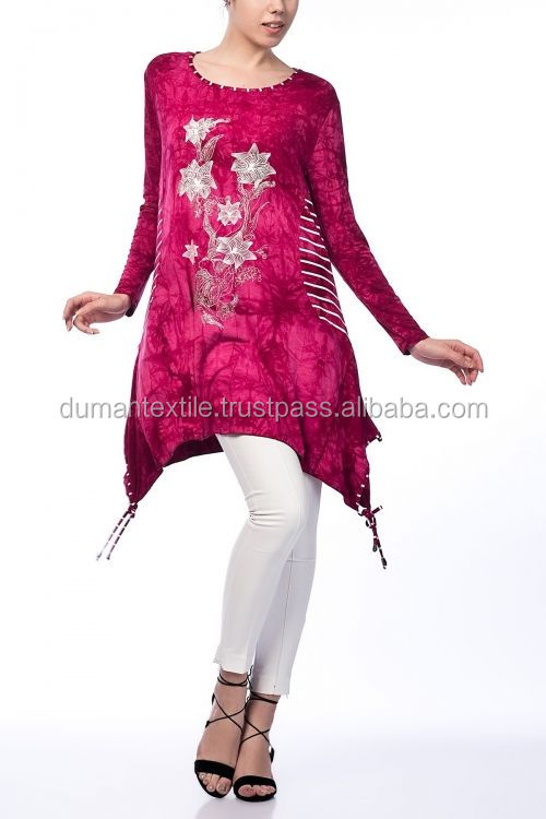 High Turk Quality Fabric Material Club Shirt Fashion BIG SIZE Moda Batik Blouse Fushia Sexy Wholesale Worldwide Model BDR13385DF