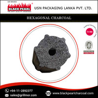 High Quality Low Ash Hexagonal Shape Charcoal Plant
