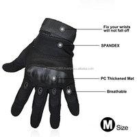 Mens Tactical Gloves Hard Knuckle Full Finger Military Gear